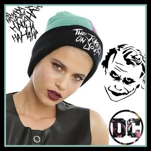 DC Comics Suicide Squad Joker Joke's on You Beanie